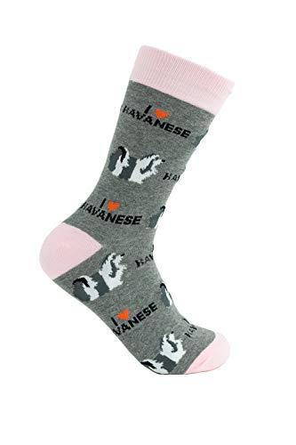 Havanese Socks - Comfy Adult Socks for Men & Women