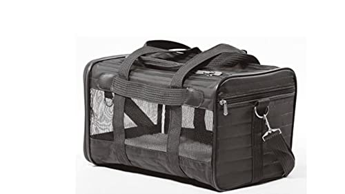 Sherpa Original Deluxe Airline Approved Pet Carrier, Medium, Black
