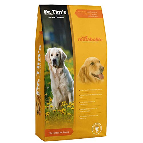Dr. Tim's Weight Management Metabolite with Grains Premium Dog Food, 24 lb. Bag