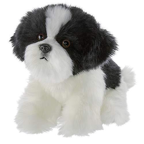 Bearington Butch Plush Havanese Stuffed Animal Puppy Dog, 13 Inch